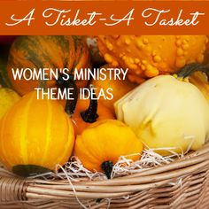 Thanksgiving Women's Ministry Theme Ideas