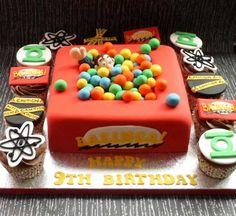 Bazzinga The Big Bang Theory cake! i want!!! love it!