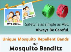 Jungle Magic Mosquito Banditz Froggy Mosquito Repellent bands are a revolutionary mosquito repellent product for children over 3 years. Make your kids wear this Mosquito Repellent band on the wrist or the ankle to ensure complete outdoor protection against mosquito bites. Every band comes with a special compartment with Citronella oil to protect children from mosquitoes while outdoor activities. Each pack consists of two bands for your kid to wear on wrist & ankle.