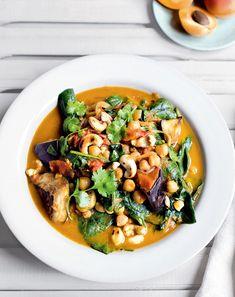 Eggplant Chickpea Curry