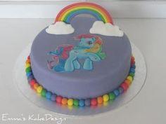 Emmas KakeDesign: My Little Pony kake