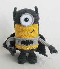 Flying Hero crochet toy amigurumi PDF pattern by jasminetoys