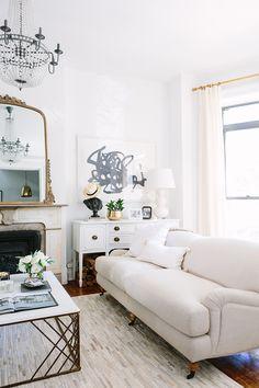 Alaina Kaczmarski S Greystone Home Tour Before And After Interior Exterior Design Living Room