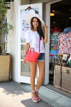 espadrille wedge outfit