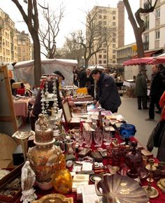 Paris Cheapskate: The Best Paris Flea Market: Marché Aux Puces de Vanves Open weekends, go early, well before noon.