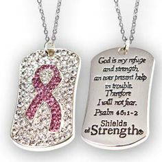 Shields of Strength - Breast Cancer Pink Ribbon Pendant.   http://www.shieldsofstrength.com/store/p/114-Breast-Cancer-Pink-Ribbon-Pendant.aspx