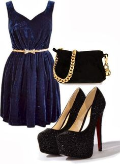 The Best Black and Blue Color Combinations in Women's Apparel | Fashion World