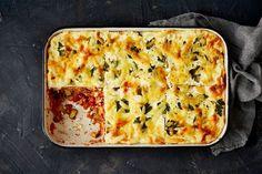 Easy tuna lasagne