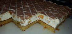 Fantakuchen mit Pfirsichschmand 1 Tiramisu, Cheesecake, Pie, Sweets, Ethnic Recipes, Desserts, Food, Sheet Cakes, Food Portions