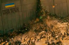 Украина продолжает отгораживаться от русских варваров Стеной: oleg_leusenko