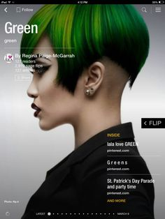 Flip through Green by Regina Paige-McGarrah http://flip.it/yyiSs