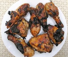 For the grillmaster - Pollo Asado Negro Spring Grilling Recipes, Grilled Chicken, Tandoori Chicken, Pollo Asado Recipe, Venezuelan Food, Venezuelan Recipes, Good Food, Yummy Food, So Little Time