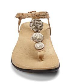 d606a7ed1234 Vionic Lizbeth Women s T-strap Orthotic Sandal