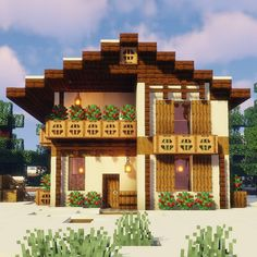 Building Games 795518721668913086 - Minecraft Houses 109353097190204288 Source by Minecraft Bauwerke, Casa Medieval Minecraft, Cute Minecraft Houses, Amazing Minecraft, Minecraft House Designs, Minecraft Construction, Minecraft Tutorial, Minecraft Blueprints, Minecraft Creations