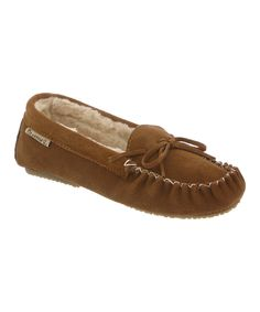 This Hickory Ashlynn Suede Moccasin by BEARPAW is perfect! #zulilyfinds