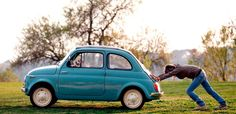 Woman pushes her Fiat 500 car as her dog sits inside, in neighbourhood of Rome Pet Insurance For Dogs, Cheap Car Insurance, Fiat 500 Car, Insurance Website, In Case Of Emergency, Cheap Cars, Cute Cars, Top Cars, Inspiration