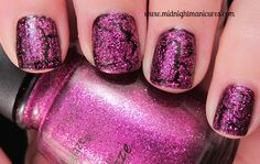 China Glaze Crackle Glitters - Click through to see the rest of the collection and review.
