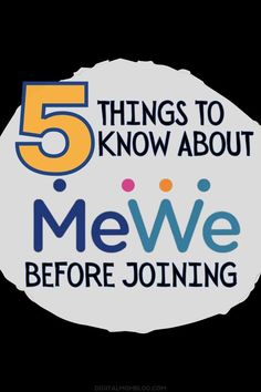 5 reasons you may want to try MeWe social network. 5 Things, Things To Know, Revenue Model, Social Media Digital Marketing, Parental Control, Business Pages, Life Memes, Mom Blogs, Call Her