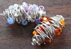 Make Yourself Wire Wrapped Beads Tutorials love it! must try! #ecrafty