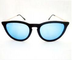 óculos ray ban erika velvet azul espelhado frete grátis