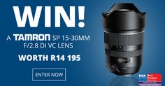 WIN the latest addition to the line of professional grade Super Performance lenses from Tamron, the Di VC USD lens worth
