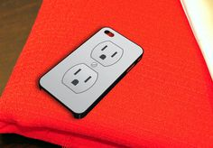 Electric Outlet iPhone 4 iPhone 4S Case by chillmonkey on Etsy, $15.79