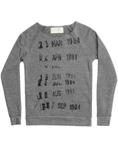 Look what I found from Out of Print! Library Stamp women's book sweatshirt – Out of Print