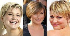 A legjobb hajformák a kerek arcú hölgyek számára!