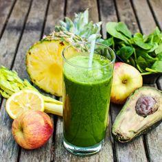 Smoothie-Rezept für einen Grünen Smoothie mit Ananas: So bereiten Sie einen gesunden grünen Ananas-Smoothie zu ...