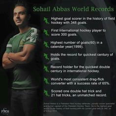 Sohail abbas pakistan hockey player