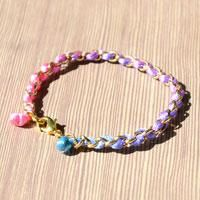 Bracelet Diy Tutorial- The Way to Make a String and Chain Bracelet