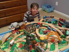 Overview Of Types Of Thomas Train Track.