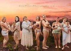 Wild breastfeeding photos reveal natural beauty | BabyCenter Blog