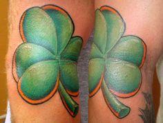 Luck o' the Irish! Graham Fisher of Hot Rod Tattoo in Blacksburg, VA.