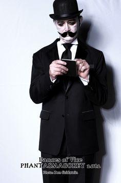Guest at Dances of Vice PhantasmaGOREY Edward Gorey Halloween 2012