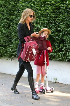 Trinny Woodall Photos: Trinny Woodall Out and About