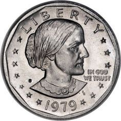 How Much Is My Susan B Anthony (SBA) Dollar Worth is part of pizza - Looking to see how much your Susan B Anthony Dollars are worth Here are the coin values and prices for SBA Dollars minted from 1979 to 1981 and 1999 Rare Coins Worth Money, Valuable Coins, Old Coins Value, Penny Values, Rare Pennies, Coin Buyers, Susan B Anthony, Coin Worth, American Coins