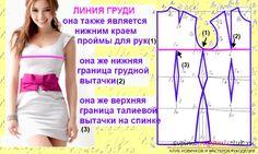Как сделать самую простую выкройку платьев?. Фото №1