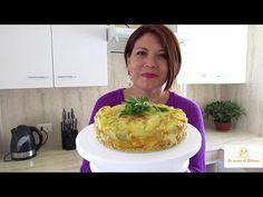 TORTILLAS DE PAPAS RELLENA DE JAMON Y QUESO AL HORNO - Silvana Cocina y Manualidades - YouTube
