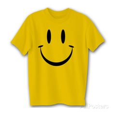 Happy Smiley Face T-shirts at AllPosters.com
