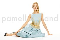 The perfect modern cinderella dress I Pamella Roland