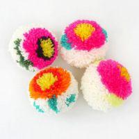 Flower Pom-Poms!