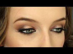 Romantic Halo Smokey Eye | Urban Decay Gwen Stefani Palette Makeup Tutorial - YouTube