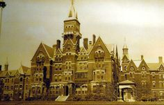Danvers State Hospital in Danvers, Massachusetts operated from 1878-1992.