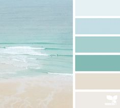 Room colors: learn how to choose with references and practical tips - Home Fashion Trend Coastal Paint Colors, Beachy Colors, Bedroom Paint Colors, Paint Colors For Home, Wall Colors, Home Beach, Beach House Decor, Beach House Colors, Beach House Furniture