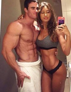 10 Fitness Couples Flaunt Their HOT Bodies. Spending quality time together doesn't always have to be at home, it can also be at the gym. Working out with yo