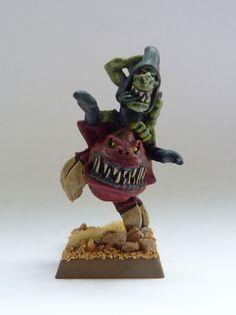 Night Goblin Squig Hopper from Warhammer Fantasy Battle.