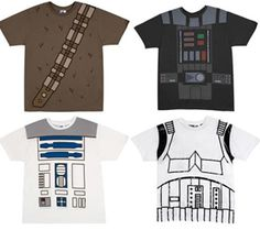 Star wars costume tshirt patterns That I could paint myself!