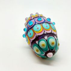 Handmade Glass Beads by Jennie Lamb, www.facebook.com/raspberryrings