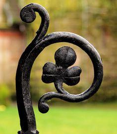 Church gate detail, Belfast